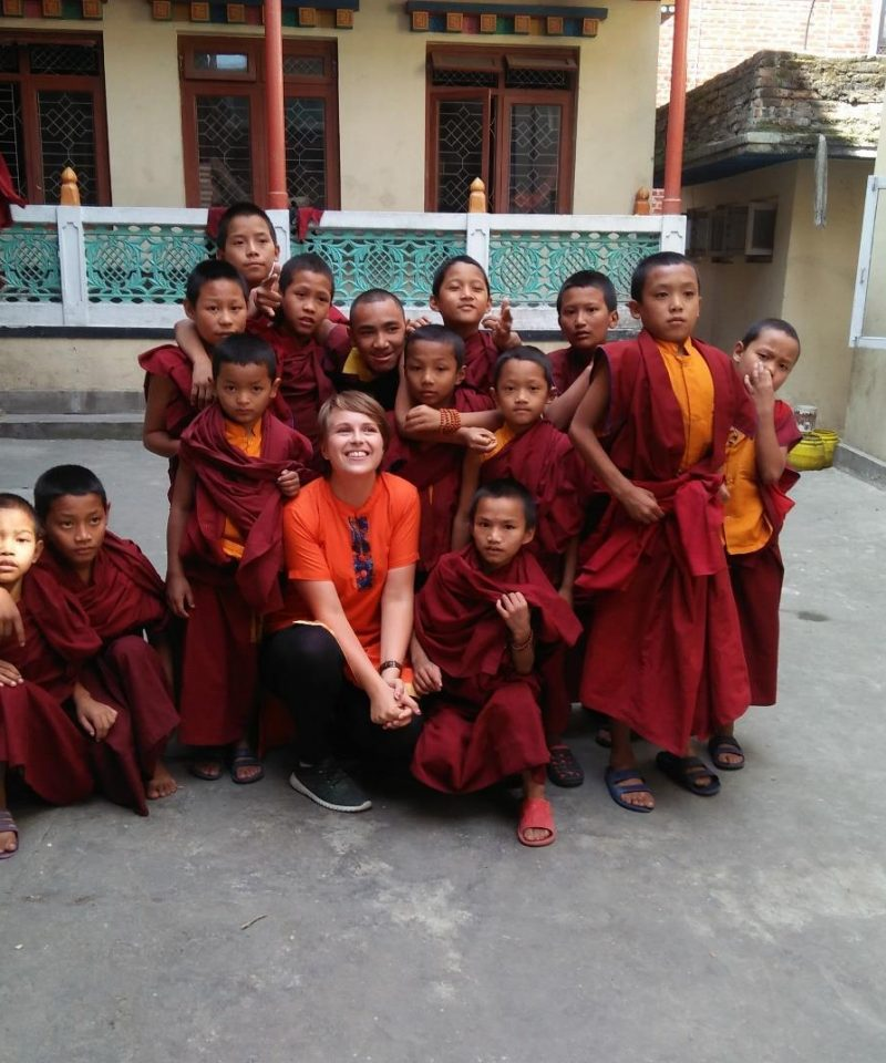 Teach English to Buddhist Monks